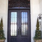 The Gothic Style DSDST-020 Wrought Iron Doors