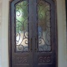 Wrought Iron Doors----French Architectural Style DED-085