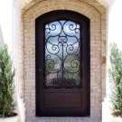 Wrought Iron Doors-----French Architectural Style SED-014