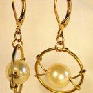 E14 - pearl beaded earrings