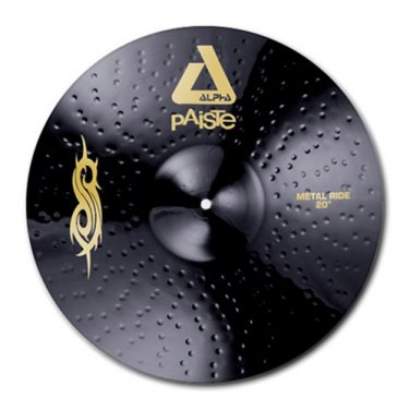 Paiste Black Alpha Slipknot Edition 20inch Metal Ride Cymbal Round Mousepad