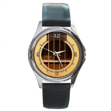 Rosette Breedlove Passport B350-SMe-4 Acoustic-Electric Bass Round Metal Watch