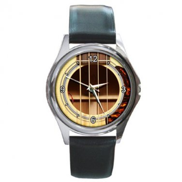 Roestte Martin BCPA4 Acoustic-Electric Cutaway Bass Round Metal Watch