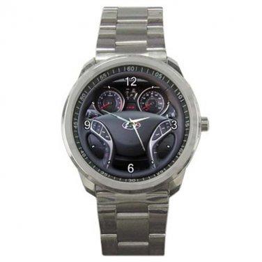 2013 Hyundai Elantra Coupe 2 Door Auto SE Steering Wheel Sport Metal Watch