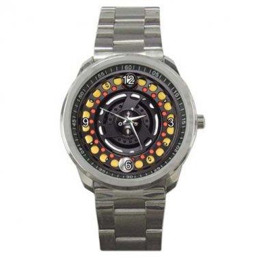 Orvis Hydros Large Arbor III Reel Black Sport Metal Watch
