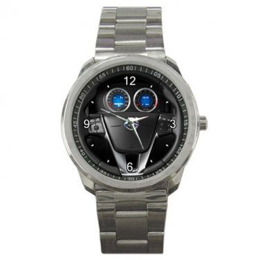 Volvo S60 Steering Wheel Sport Metal Watch
