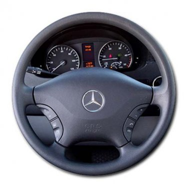 Read Basem's 2011 Mercedes-Benz Airstream Interstate 3500 Round Mousepad
