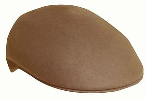 JCP Water Proof Crushable Ivy Cap/Driving/Cabbie Driver-Travel Hat-Tan-Large