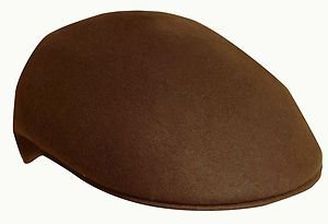 SCALA Water Proof Crushable Ivy Cap/Driver/Driving Rounded Shape Hat-Tan-MEDIUM