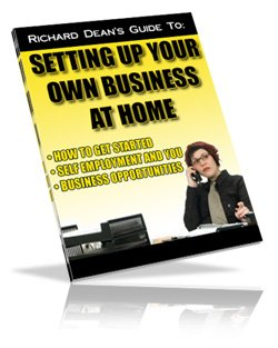 Setting Up Your Own BUSINESS AT HOME !