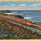 "Scenic- Stanley A. Plitz ""The Daylight"" Train Linen Postcard"