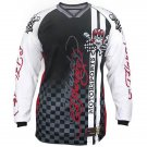 100% authentic Mens Ed Hardy Motorsports Biker Racing Motorcycle Jersey T Shirts Size L