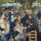 "Pierre Auguste Renoir: ""Le moulin de la Galette"", 1876-Famous Paintings/No-ship-fee"