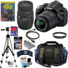Nikon D3200 24.2 MP CMOS Digital SLR Camera KIT B0085YS9CE-AM-975