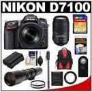Nikon D7100 Digital SLR Camera KIT B00BR2WOLI-AM-2300