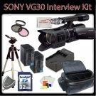 Sony NEX-VG30 Interchangeable Lens HD Handycam Camcorder KIT  B006G2EFRU-AM-2700