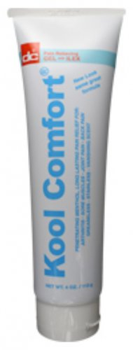Dee Cee Laboratories (Labs) Kool (Cool) Comfort Cryotherapy Pain Relieving Gel Tube - 4 fl oz