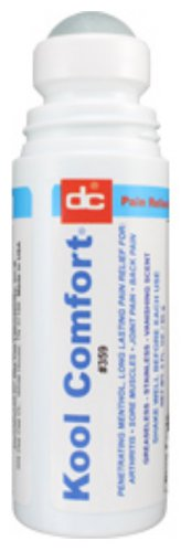 Dee Cee Laboratories (Labs) Kool (Cool) Comfort Cryotherapy Pain Relieving Liquid Roll-On - 3 fl oz