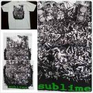 SUBLIME white T- shirt 90'S Tee Sublime short sleeve T shirt rock band S-XL
