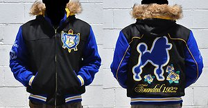 Sigma Gamma Rho Long Sleeve Wool jacket coat Sigma Gamma Rho Poodle Coat S-4X