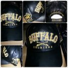Buffalo Soldiers black leather baseball Hat Leather Buffalo Soldier US Army Cap