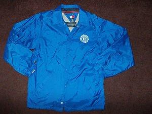 Blue Long sleeve jacket coat Boys Blue Tommy Hilfiger Athletics zip up jacket XL