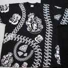 Black short sleeve Diamond chain link money sign T shirt Royalty Kings Tee XL-4X