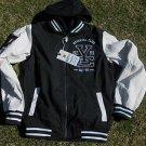 Gray White Varsity Jacket Holstark Vasity Collegiate Varsity Hoodie Hoody Coat 2
