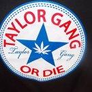 Taylor Gang short sleeve T-shirt Black Wiz Khalifa short sleeve T shirt S-XL