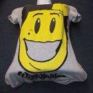 Womens Wiz Khalifa short sleeve T-shirt Gray short sleeve fitted T shirt S-XL
