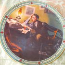 "Norman Rockwell ""A Young Man's Dream"" Collector Plate Fifth Issue 5360F"