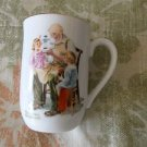 One Vintage 1982 Norman Rockwell Museum Collectible Cups, The Toymaker