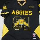 NC A&T AGGIES Black short sleeve College Football Jersey North Carolina A&T 2X