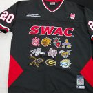 SWAC Southwestern Athletic Conference Black SWAC College Football Jersey XL