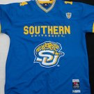 Mens short sleeve college football jersey Southern Jaquars football jersey 3X,4X