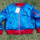 Women's blue red playboy Bunny Head Jacket Reversible Playboy Bunny Jacket M NWT