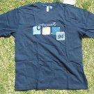 Clench blue short sleeve T shirt Mens blue short sleeve casual T shirt XL NWT