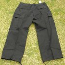 Eddie Domani black cargo pants mens black 6 pocket cargo casual pants 46WX32L