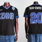 Zeta Phi Beta Short Sleeve Football Jersey S-3XL
