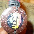 Rastafarian RED BLACK GOLD WRIST BAND Wood Casual Dress Hand crafted wrist band