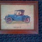 CHEVROLET ROADSTER 1913 LITHO PRINT-FREDERICK ELMIGER Vintage Chevy Car photo