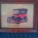VINTAGE FORD TOURING CAR 1911 LITHO PRINT-FREDERICK ELMIGER Vintage Ford Car