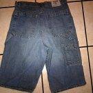 GUESS USA blue denim jean shorts Womens GUESS JEANS blue denim jean shorts 18W