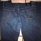 Sean John womens blue denim jean pants Sean John Blue Denim Jean Pants 29Wx30L