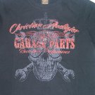 Black short sleeve t shirt by Christian Audigier short sleeve tee shirt M, L