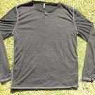 Men's Thin Black Long sleeve sweater Sovereign Code Black pullover sweater XL