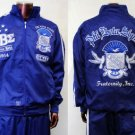 PHI BETA SIGMA blue long sleeve warm up suite L-5XL