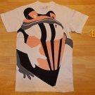 Mens white short sleeve T shirt  by HOT AIR M-2XL