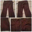 Robert Louis Plus size brown dress casual pants Womens Plus size pants 22WX32L
