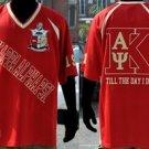 Red Short Sleeve Kappa Alpha Psi Football Jersey Nupe Football Jersey K edition